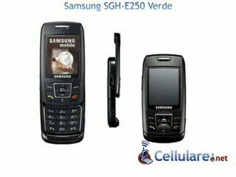 Samsung SGH-E250 Verde