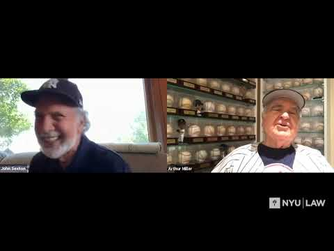 Let's Talk Baseball: Then and Now with John Sexton and Arthur Miller