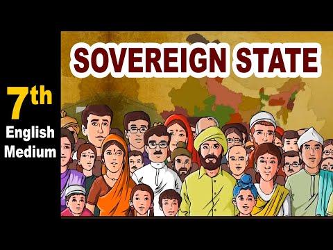 Sovereign State   7th Std   Civics   English Medium   Maharashtra Board   Home Revise