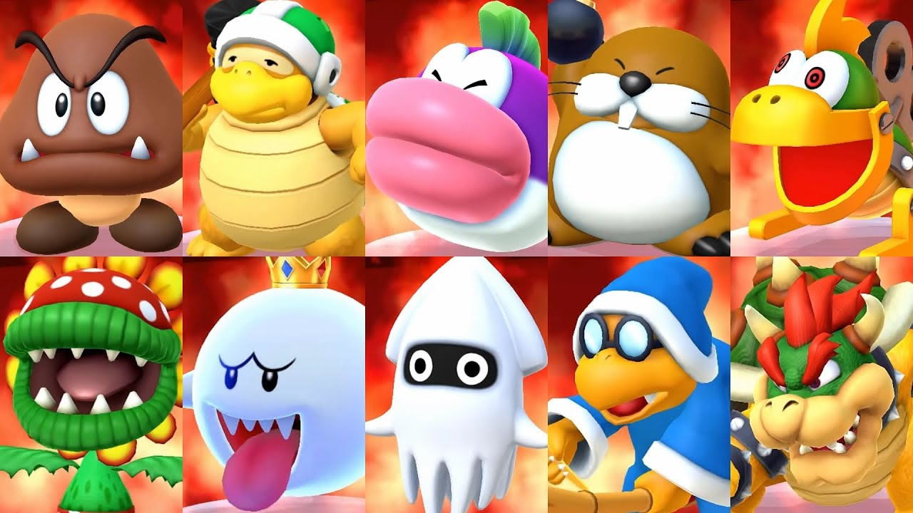 Mario Party 10 - All Bosses (Master Difficulty)