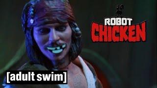 Jack Sparrow Sex Fantasy | Robot Chicken | Adult Swim