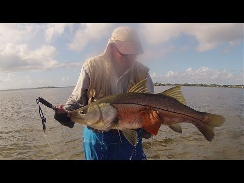 Kayak Fishing, Stuart, FL - Personal Best Snook 06/25/2013