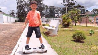 Como andar de HOVERBOARD | Kids Play with Hoverboard