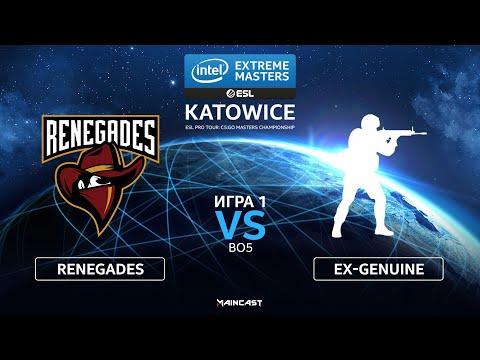 Renegades vs ex-Genuine vod