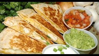 Quesadillas Barbacoa