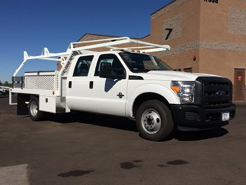 2015 Ford F-350 Crew Cab Scelzi Custom Contractors Body