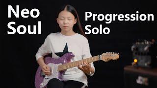 Neo Soul Progression / solo (Royziv) Cover by YOYO