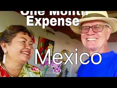 Monthly Expense Mexico Retirement  Mazatlan Cancun Mexico City Puerto Vallarta Mexico