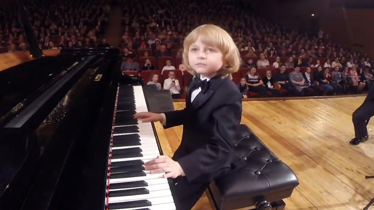 Mozart Piano Concerto No 13 1 Part Elisey Mysin Cadence Author Elisey Mysin Youtube