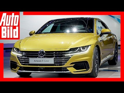 vw arteon genf 2017 aus passat cc wird arteon. Black Bedroom Furniture Sets. Home Design Ideas