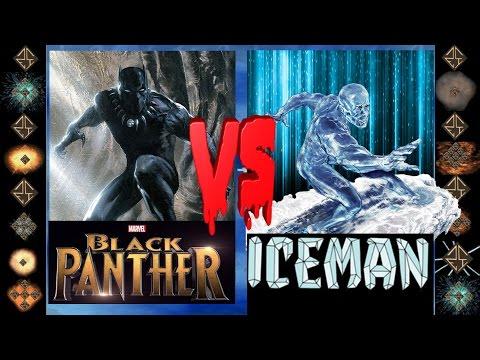 Black Panther (Marvel Comics)  vs Iceman (Marvel Comics)  - Ultimate Mugen Fight 2016