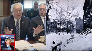 HAVE NO FEAR! President Trump Just Revealed His Secret Plan To Save Us From GIANT BLIZZARD!