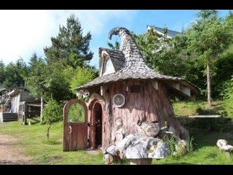 tiny hobbit home carved from a stump is straight out of a fairytale - Gnome House S Design