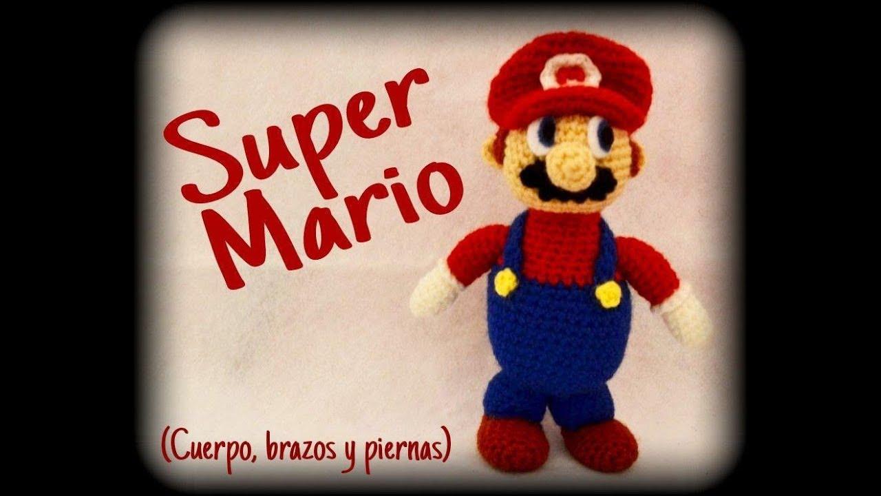 Mario Plushie | Mario crochet, Padrões de amigurumi, Crochê super ... | 720x1280