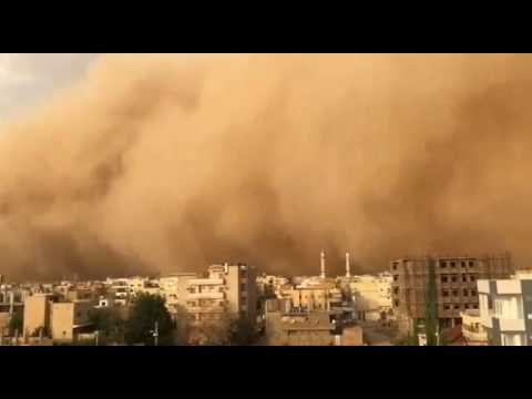 Twister in Khartoum sudan