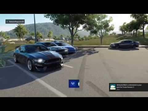Forza Horizon 3: livestream Cars & Coffee highway pulls digs and drifts