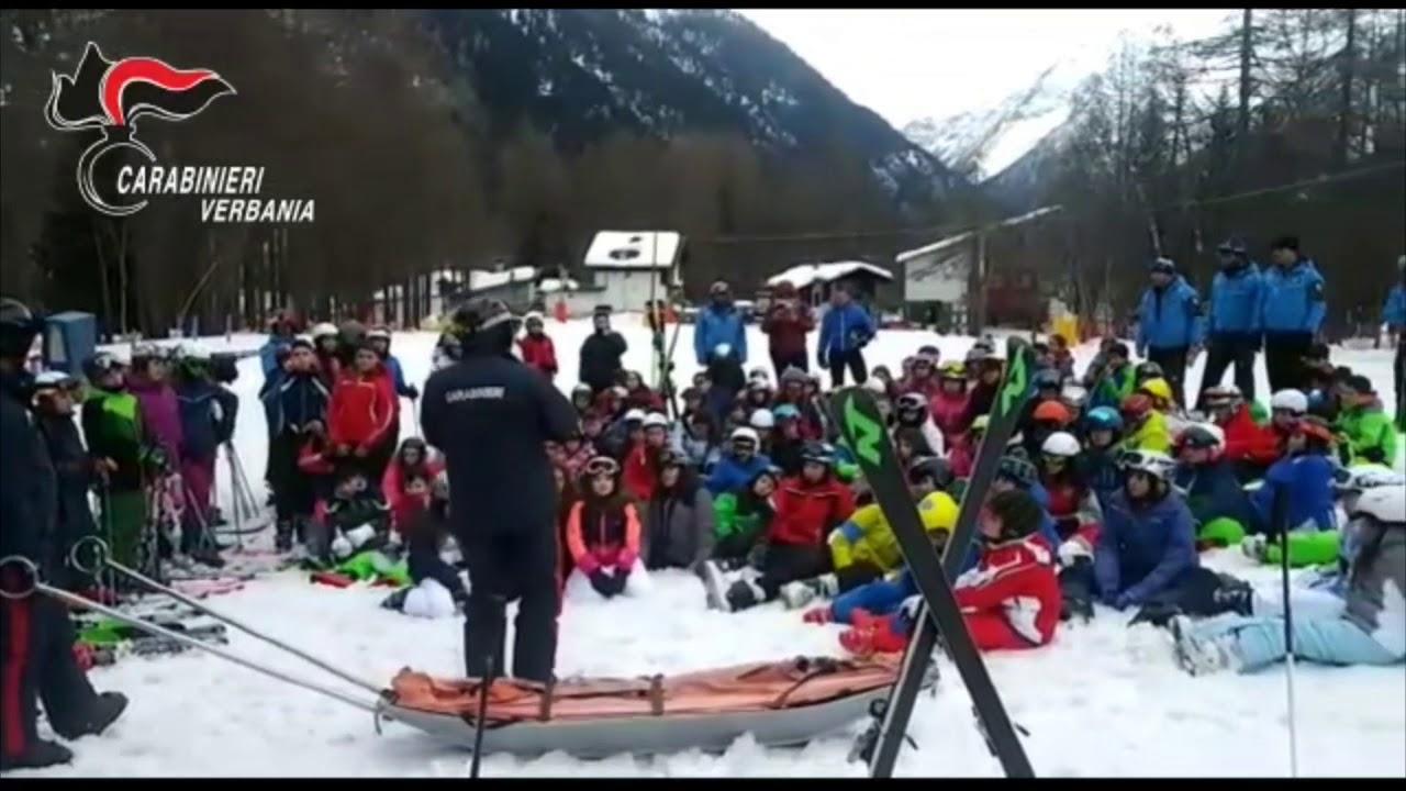 Carabinieri sugli sci Vco