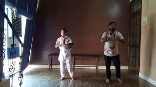 Bhangra dance performed by Vishal Garg and my student Ginish Garg from Dazzler Vishal Academy