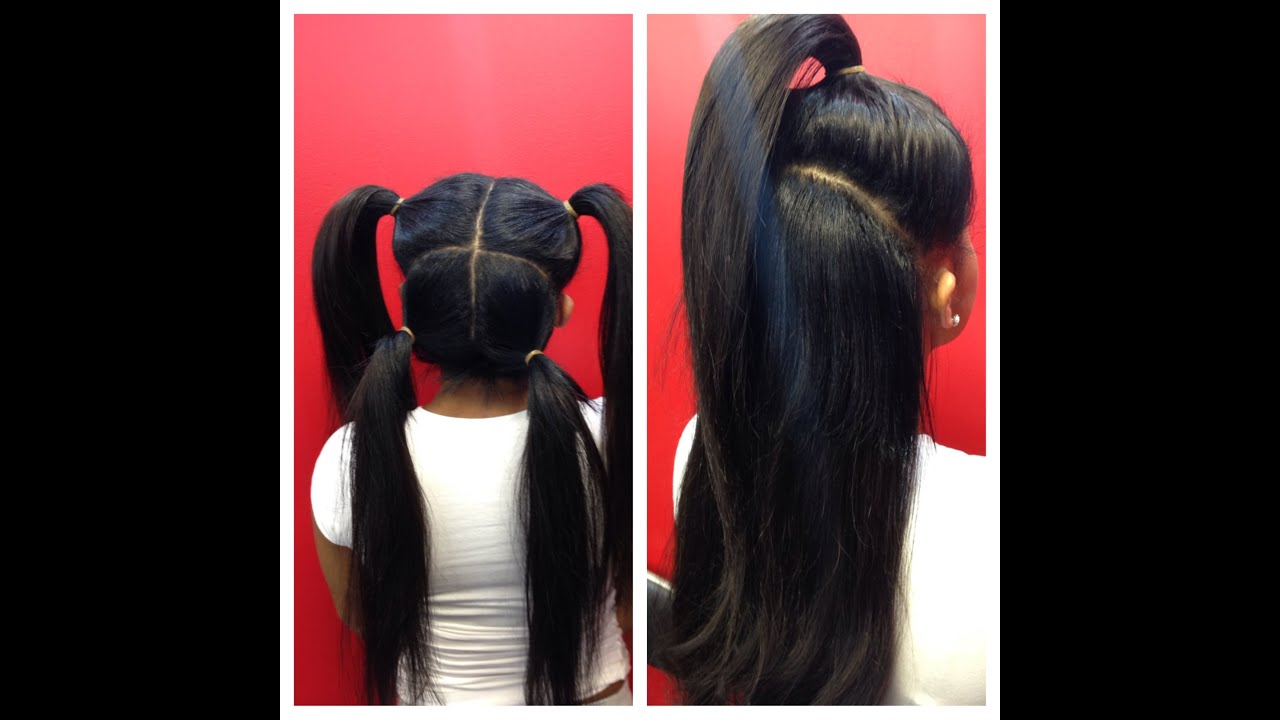 hairstyles without bangs : vixen sew-in weave braiding tutorial. [ FOLLOW me on INSTAGRAM @ ...