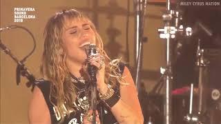 Miley Cyrus - Jolene (Live at Primavera Sound Festival) [HD]