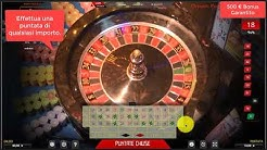 Live Roulette Tournament Tutorial - 500€ Garantito
