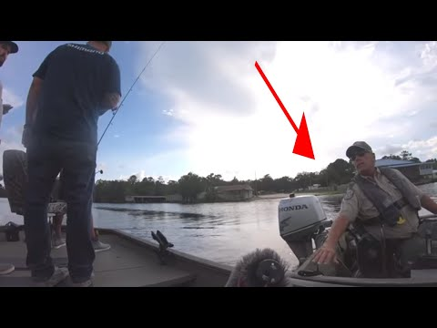 BUSTED By GAME WARDEN While ALLIGATOR HUNTING!