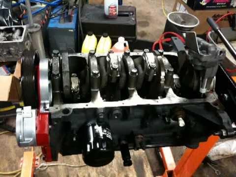 98 S10 engine sludge and rebuild 22 liter - YouTube