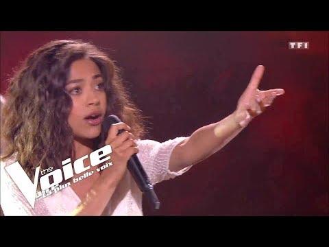 Céline Dion - Pour que tu m'aimes encore   Whitney   The Voice 2019   Live Audition