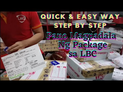 Paano magpadala sa LBC - Quicker Way & Easy Step by Step | Feb&Jake Vlogs
