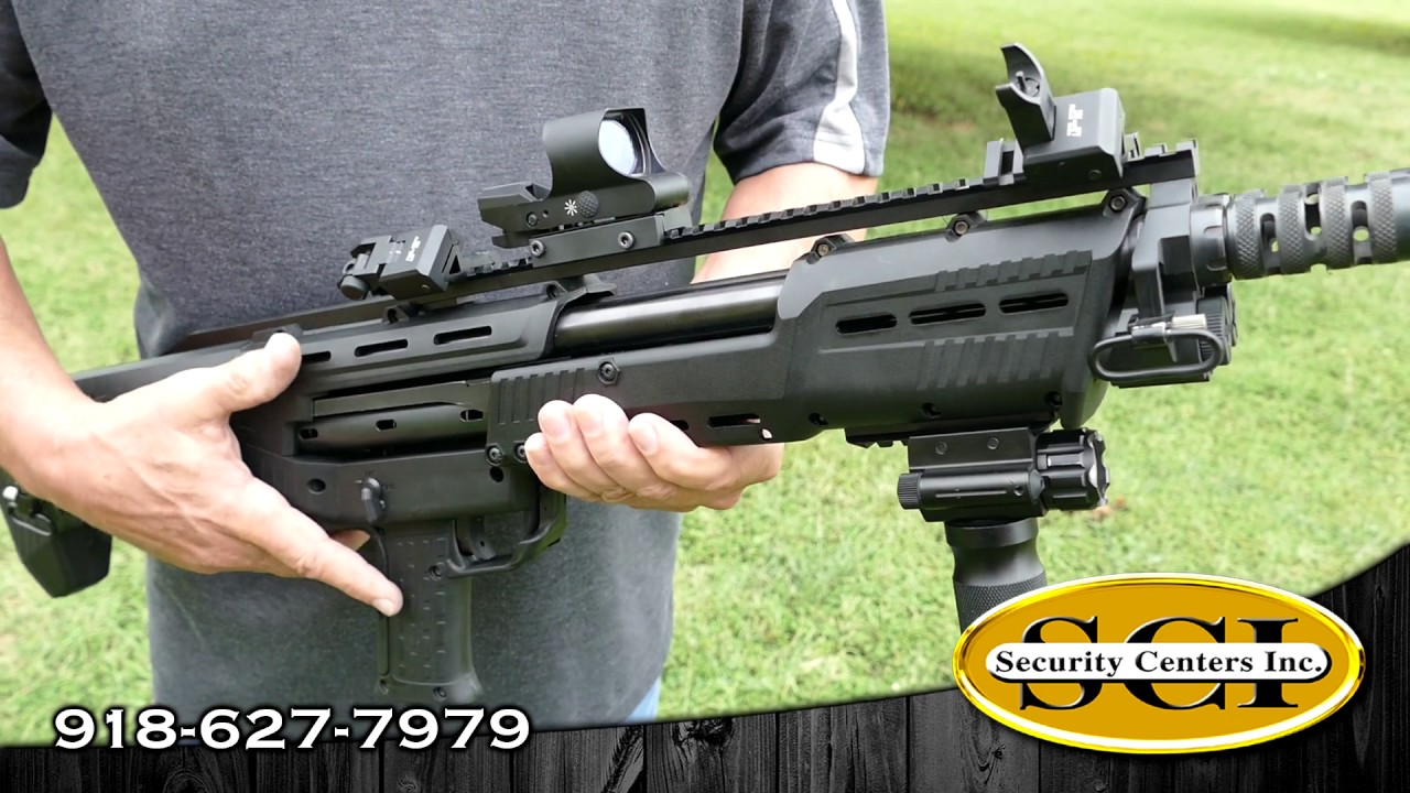 SCI Product Review - Standard Manufacturing DP-12 Double Barrel 16 Shot  Pump Action Shotgun