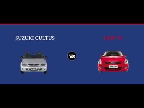 Suzuki Cultus Vs Faw V2 Price Specs Features Pakwheels Comparison