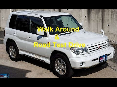 Walk Around & Test Drive - 2000 Mitsubishi Pajero IO Pearl Package LWB - Japanese Car Auction