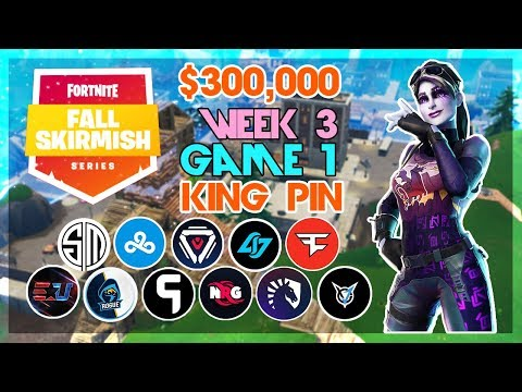 $300,000 🥊King Pin Fall Skirmish🥊 Week 3/Game 1 (Fortnite)