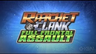 Ratchet & Clank: Full Frontal Assault  Debut Trailer