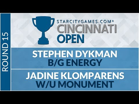 SCGCIN - Round 15 - Stephen Dykman vs Jadine Klomparens (Standard)