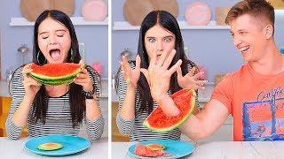 15 смешных пранков с едой