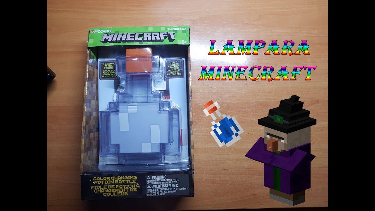 En Forma Lámpara Minecraft Poción De sothQrdCxB