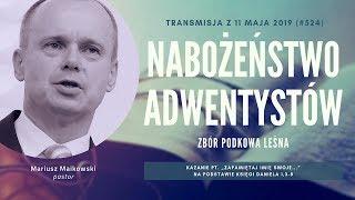 Nabożeństwo Adwentystów - Podkowa Leśna (190511-#524)
