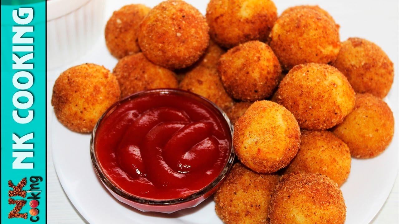 Картофельные шарики из пюре - пошаговый рецепт с фото: как