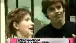"""Entrevista A Camila Bordonaba Y Benjamin Rojas En """"lo Mejor De La Semana"""""""