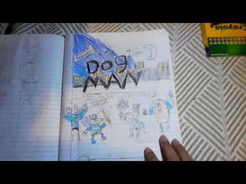 Dog man comic/not copyright only fan made
