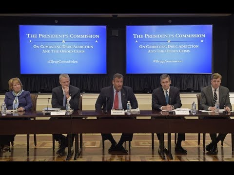 LIVE: Meeting of President Trump's Commission on Combating Drug and Opioid Addiction