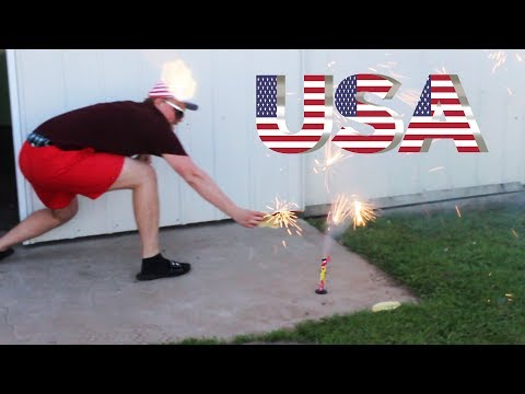 Cooking Food With Fireworks