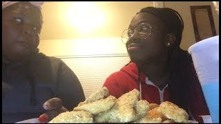 40 pc chicken nugget challenge (SOMEBODY THROWS UP) 🤮