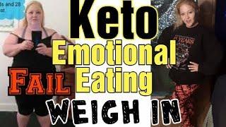 Keto Emotional Eating, Overcoming a Keto Cheat, Keto Meals, Daily Vlog.