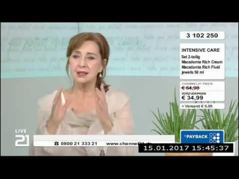 Christine Kaufmann bei Channel21 am 15.01.2017 - Teil 6