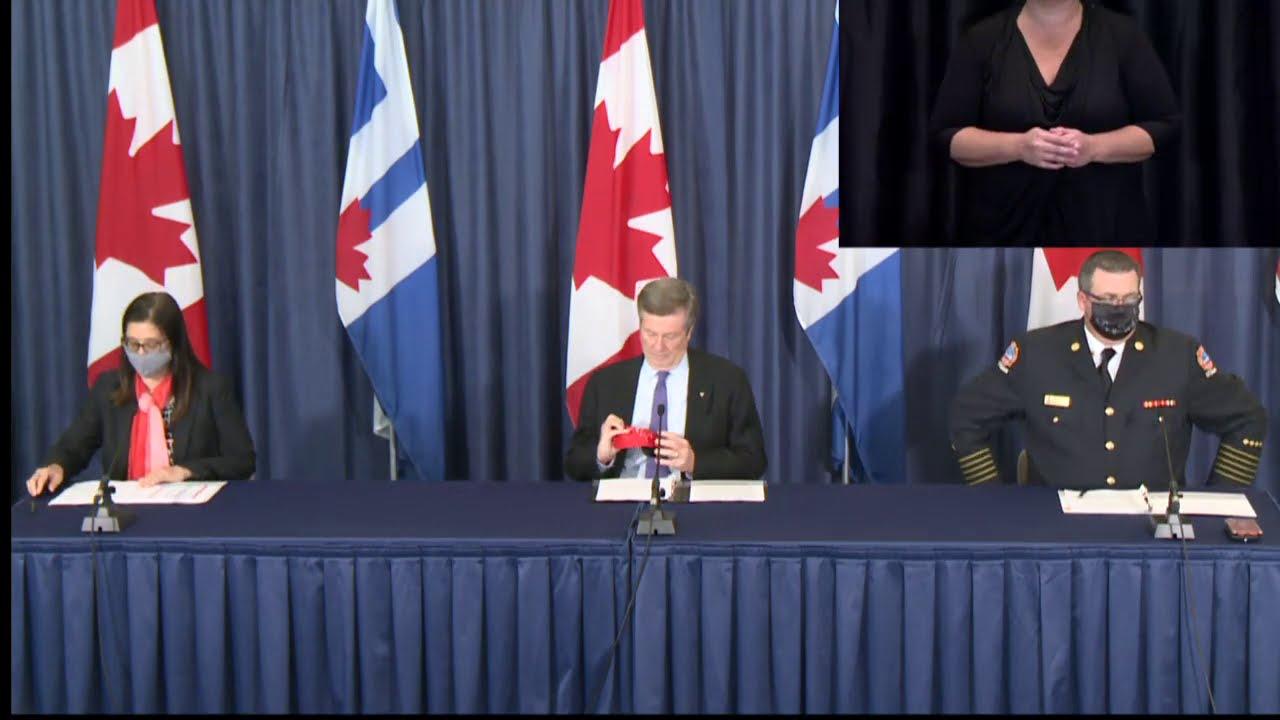 City of Toronto COVID-19 Briefing | September 23