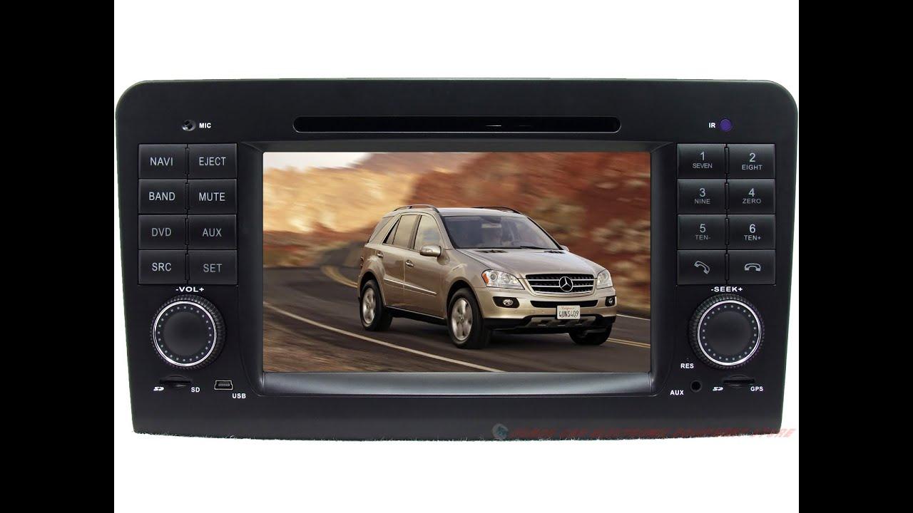 8823 for 2006 2012 mercedes benz w164 x164 ml350 gl450 car for Mercedes benz dvd player