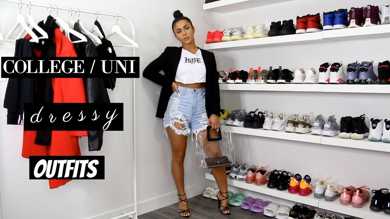 BACK TO SCHOOL DRESSY COLLEGE/UNI OUTFITS 2019 | A LOOKBOOK