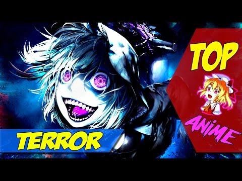 Los 5 mejores Animes de los Generos Terror/Gore | Top 5 #halloween |  En Español | MiaMeru